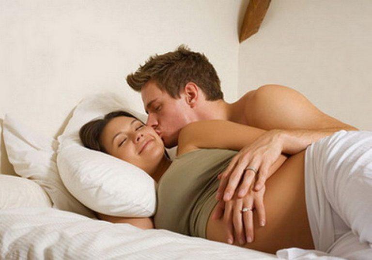Как спать мужу с беременной женой 51