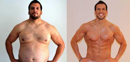 накаченный пресс до и после фото